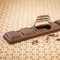 Gefüllte Schokoladenriegel - Haselnuss