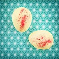 Oster-Pralinen mit Kirsch-Sahne-Füllung
