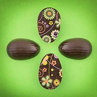 Schoko-Ostereier zu Ostern selber machen