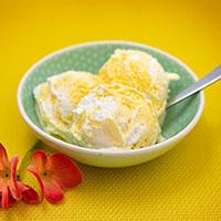 Rezepte für Milcheis - Himbeer-Eis