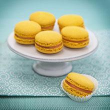 Pfirsich-Passionsfrucht-Macarons - selber machen
